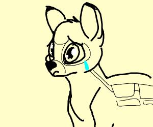 Sad Bambi