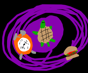 Turtle time traveling