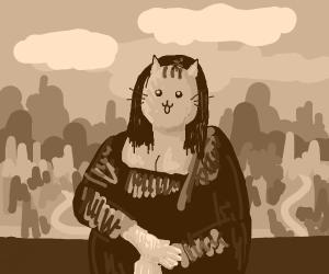 Mona Lisa Cat
