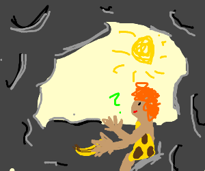 Caveman Found Banana