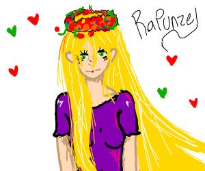 Anime Rapunzel