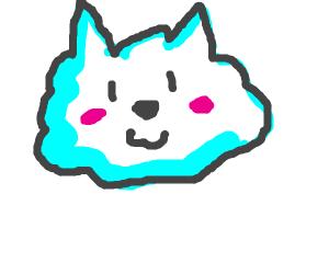 Blushing Cloud Dog