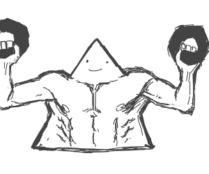 Triangle getting RIPPED