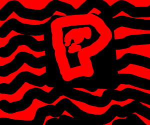 Red pewdiepie logo