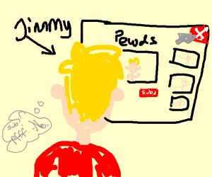 jimmy didn't sub to pewdiepie