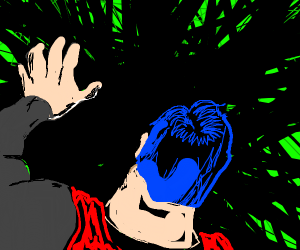 superhero loses powers