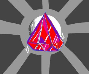 upside-down gem