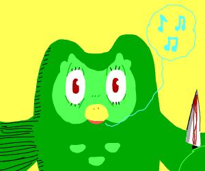Duolingo bird is coming for you