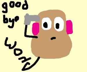 Suicidal mr potato head