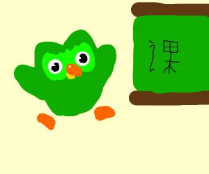 Duolingo teaches Chinese