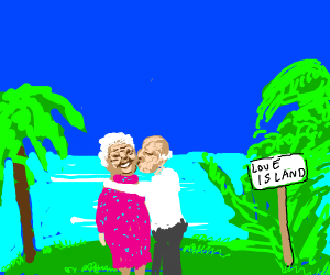 Love Island but it's old people