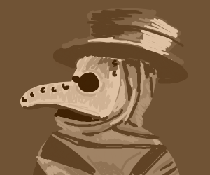 Plague doctor noir