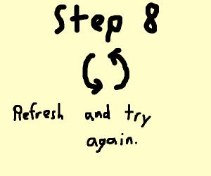 Step 7:  Overuse God powers