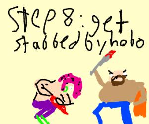 step 7- Karen says no to proposal