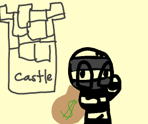 Robber in a Castle