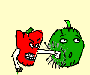 Fight club for vegetables