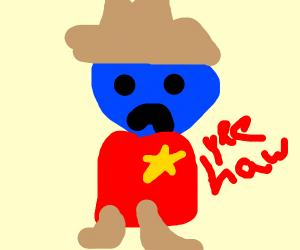 blue sheriff