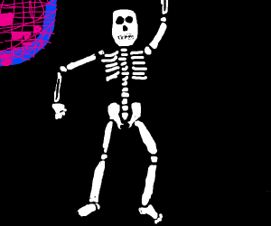 Disco skeleton