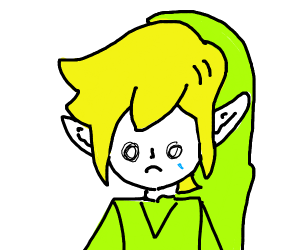 Link crying