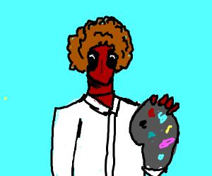 Deadpool Bob Ross