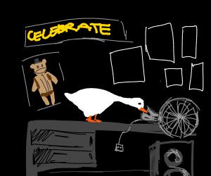 Untitled Goose but it's a FNAF version