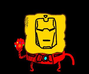spongebob iron man R.I.P