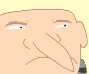 Gru's nose