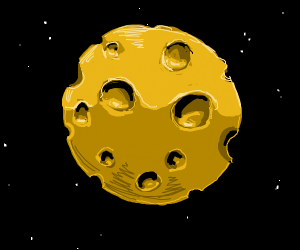 Moon Made of Cheese