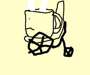 A disabled mug