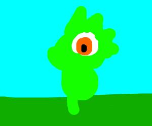 A Chibi dinosaur