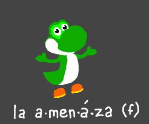 Yoshi is now the Duolingo Dinosaur