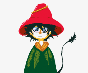 Joxter from Moomin!