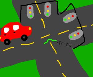 Worm in traffic