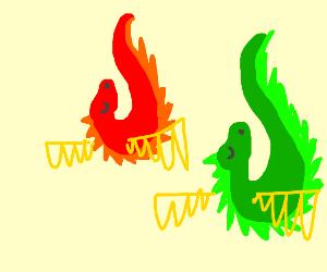 Dragon drops