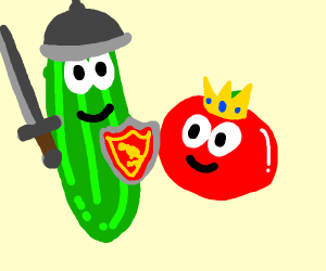 midevil veggie tales