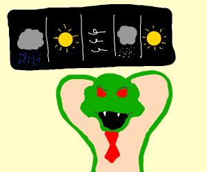 cobra weather man