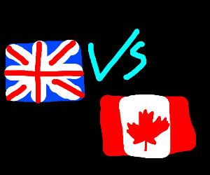 United kingdom vs canada