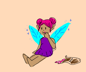 A Fairy That Ate Too Much Pink Pixie Dust