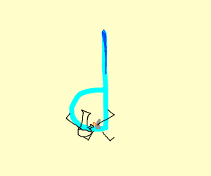 Lowercase Drawception with a... bong?