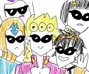 me and the gangstar bois