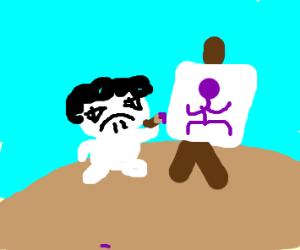 Sr Pelo Draws Thanos