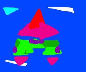 Patrick star but cubism