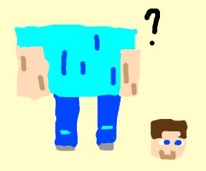 Steve lost his head