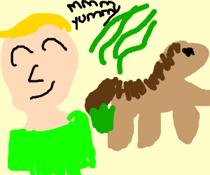 guy likes horse farts