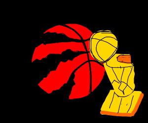 The 2019 NBA champions, the Toronto Raptors!