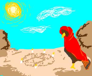Raptor ritual