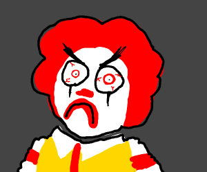 Angry Ronald