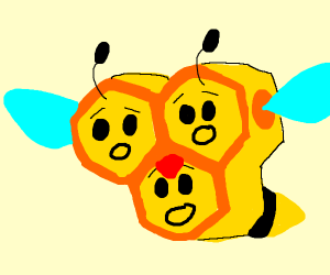 a distressed bee pokemon