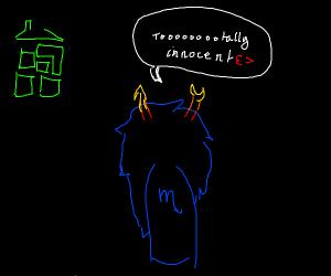 Vriska is an innocent lil spider