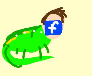 Zuckerburg the reptilian